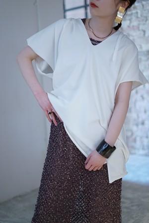 jonnlynx / cut off hoodie (white)