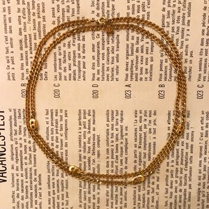 Christian Dior CDlogo necklace & bracelet
