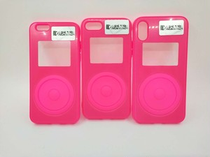 【新色ピンク】ipod風 iphoneケース アイフォーン カバー case iphonecover スマホケース smartphone スマホカバー korea 韓国 かわいい (iPhone7/8ピンク)