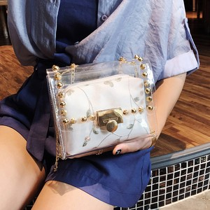 【bag】Women Crossbody Fashion Lace Chain Shoulder Bag
