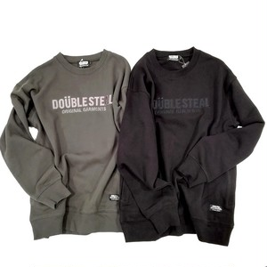 DOUBLE STEAL embroidery LOGO SWEAT / ダブルスティール スウェット / 984-19202