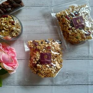 食物繊維 カカオバターグラノーラ 【ハトムギ ビューティー】(1袋2食分)