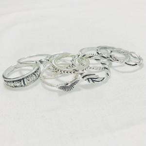Ring♡シルバー12セットリング