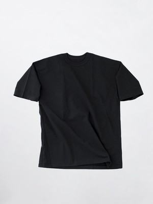 MAISON EUREKA Giza Cotton S/S Pack Tee  Black 107