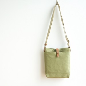 CANVAS SHOULDER S / MOSS GREEN