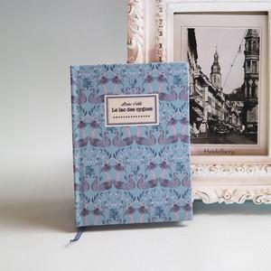 特別なことを綴るための手製本ノート*Black Swan〜小さなオディール