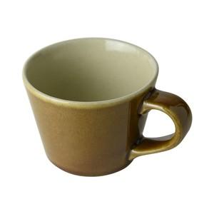 益子焼 つかもと窯 デミタスカップ ブラウン 200ml コーヒーカップ 伝統釉シリーズ 飴釉 KKC-1