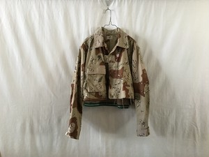 "APOLLO333""ONE&ONLY MIlitary Jacket Desart Camo"""