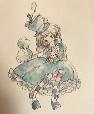 """ポストカード""""アリス"""""""