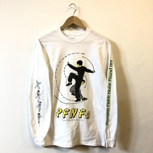 Kung-fu long sleeve (White x Yellow)