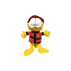Garfield Fire Department Plush Toy