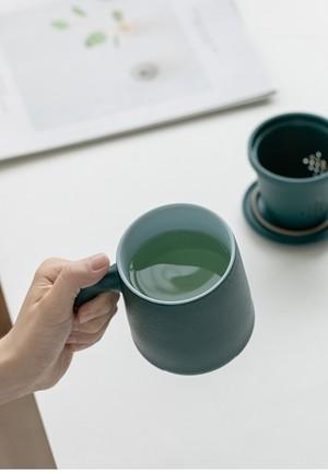 CHASURUオリジナルカップ(急須機能付き)白
