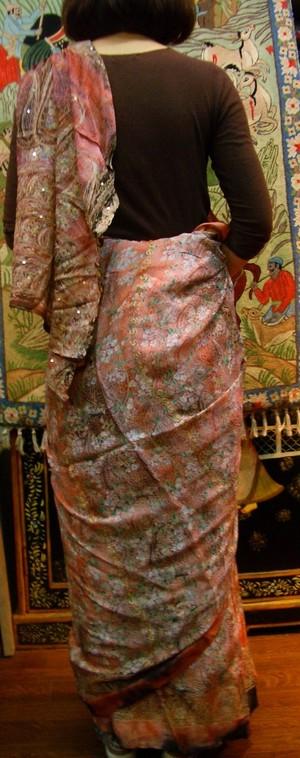 大特価インド高級サリー#10