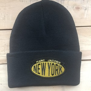 Marc by Marc Jacobs City Beanie Knit Cap NEW YORK