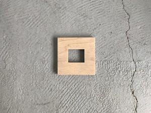 ミニプレート 角穴1