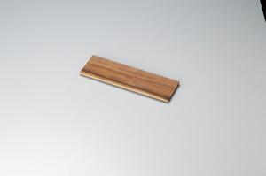 白木塗ウォールナット盛皿 10