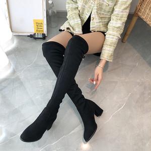 【シューズ】ファッション切り替え丸トゥブーツ24780084