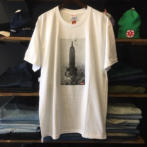 【SUPREME × MIKE KELLEY】 -シュプリーム-FW18 THE EMPIRE STATE BUILDING TEE WHITE