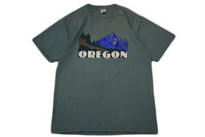 USED  USA製 Sherry's OREGON Tシャツ オレゴン グリーン XL  90s ネコポス可
