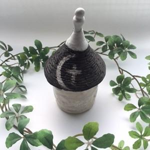 陶器の小物入れ2(月)