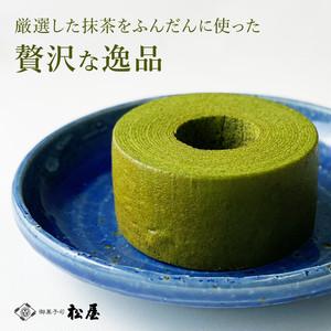 京都の老舗『御菓子司 松屋』/濃茶バームクーヘン「輪 〜りん〜」