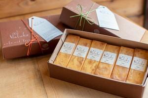 植村さんのチーズケーキ バータイプ/プレーン <6本詰め合わせセット>