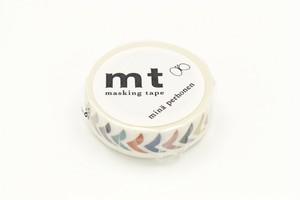 【カモ井加工紙】MTミナペルホネンBIRDPETITMIX/マスキングテープ