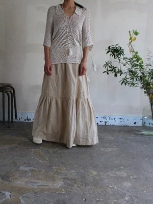 1930s silk cotton knit