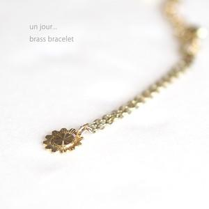 真鍮 ブレスレッド ゴールドA 58010015-01