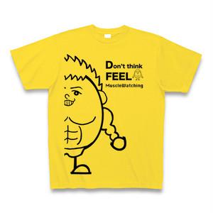マスタード考えるな感じろデカいねまるくんTシャツ