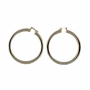 【GF2-20】Gold filled hoop earring