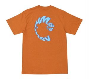WHIMSY / SURF LOGO TEE -TEXAS ORANGE-