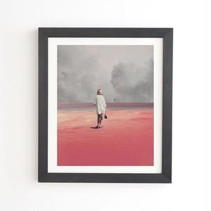 フレーム入りアートプリント  WATCHING YOU LEAVE ME  BY FRANK MOTH【受注生産品: 10月下旬頃入荷分 オーダー受付中          】