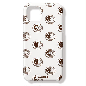 LACICO カレーライス iPhoneケース (ホワイト) 送料無料