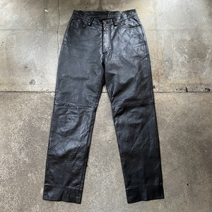90s Leather Pants