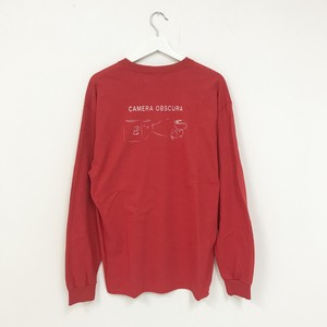 TRASH L/S TEE(RED)