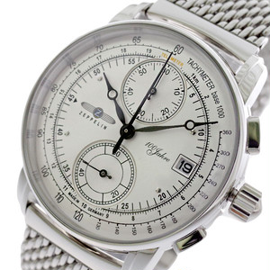 ツェッペリン ZEPPELIN 腕時計 メンズ 8670M-1 クォーツ シルバー
