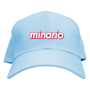 minario / SUMMER SEASON LOGO CAP LIGHT-BLUE