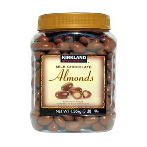 コストコ カークランドシグネチャー ミルクチョコレート・アーモンド 1.36kg | Costco Kirkland Signature Milk Chocolate Almonds 1.36kg