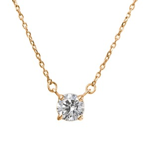 K18YGダイヤモンドネックレス 020201009200
