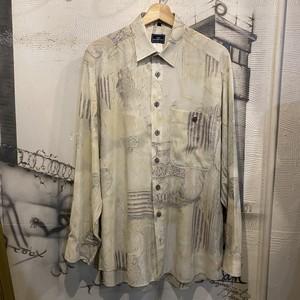 Euro rayon polyester design shirt 10