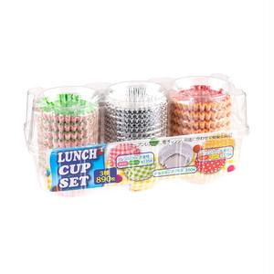 コストコ ランチカップセット アルミカップ350枚 電子レンジカップ540枚 | Costco Lunch box cups Alminium 350cups+Microwavable 540cups