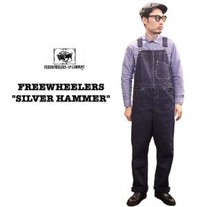 """SILVER HAMMER""  FREEWHEELERS/フリーホイーラーズ UNION SPECIAL OVERALLS Lot 1922012 オーバーオール / ウォバッシュ / ストライプ"