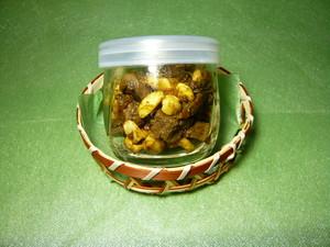 カシューナッツ入りレバーと生姜の佃煮