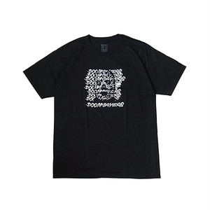 DOOM SAYERS - GHOST FACE TEE (Black)