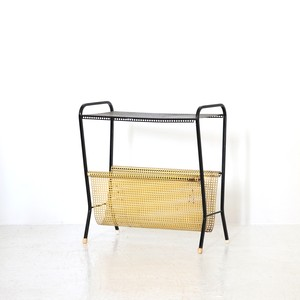 Side table with Magazine rack
