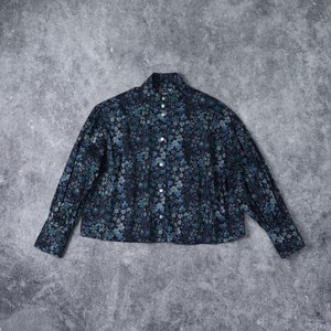 【SETTO】BS OKKAKE LIVERTY SHIRT セット シャツ ウィメンズ レディース 日本製 MADE IN JAPAN