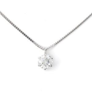 【24】0.31ct / E / VVS1 / 3EX【一粒ダイヤモンドネックレス】