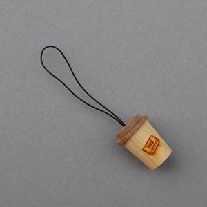木ーフォルダー(コーヒーカップ型:岸本挽物製作所