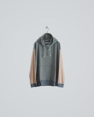 bi color hoodie